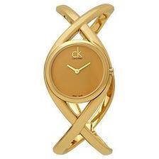 折合280.8元 Calvin Klein ENLACE系列 K2L23509 女士时装腕表