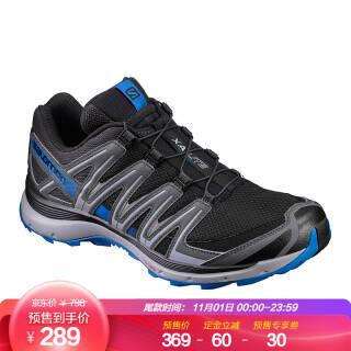 萨洛蒙(Salomon)男款户外防滑耐磨透气越野鞋 XA LITE 黑色 393307 UK9(43 1/3) 279元