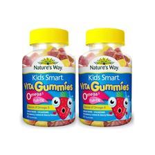 双11预告: Nature's way 佳思敏儿童鱼油软糖 60粒/瓶 新老包装随机 2件 89元含