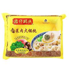 湾仔码头 上海大馄饨 青菜香菇猪肉口味 600g 30只 *11件 +凑单品 183元包邮(