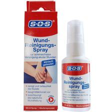 德国进口,SOS 伤口无痛儿童清洁消毒喷雾 50ml79元包税包邮