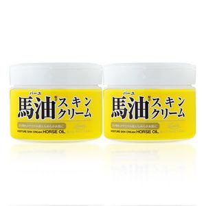 日本原产 Loshi 天然马油乳霜 220g*2瓶 49元包邮 同款京东40元/瓶