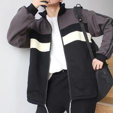 ¥103.5 拼色棒球服外套休闲夹克*2