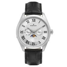 折合1168.65元 EDOX 依度 Les Vauberts系列 40008-3-ARN 男士时装腕表