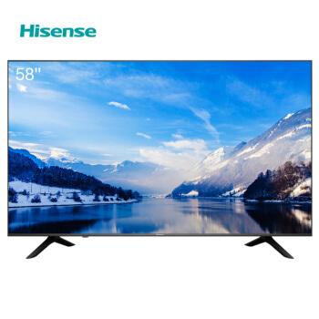 Hisense 海信 H58E3A 58英寸 4K 液晶电视 1799元包邮 ¥1799